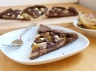 caramelized pear chocolate goat cheese tart clean eating