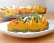carrot zucchini pie slice